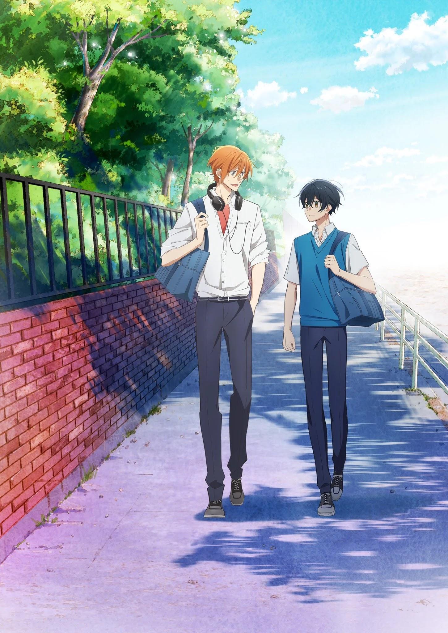 Anime Sasaki to Miyano revela primeiro vídeo promocional e data de estreia