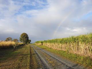 rural Queensland, rainbow