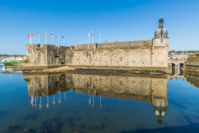 Ville Close en Concarneau, Francia