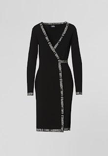 Karl Lagerfeld - Застъпена Рокля