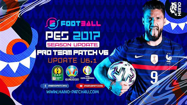 Pro Team Patch V6.0 AIO (110 GB) + Update V6.1 For PES 2017