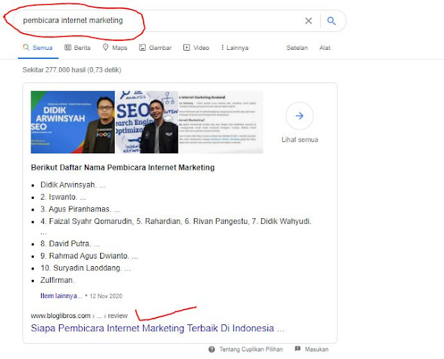 pembicara internet marketing