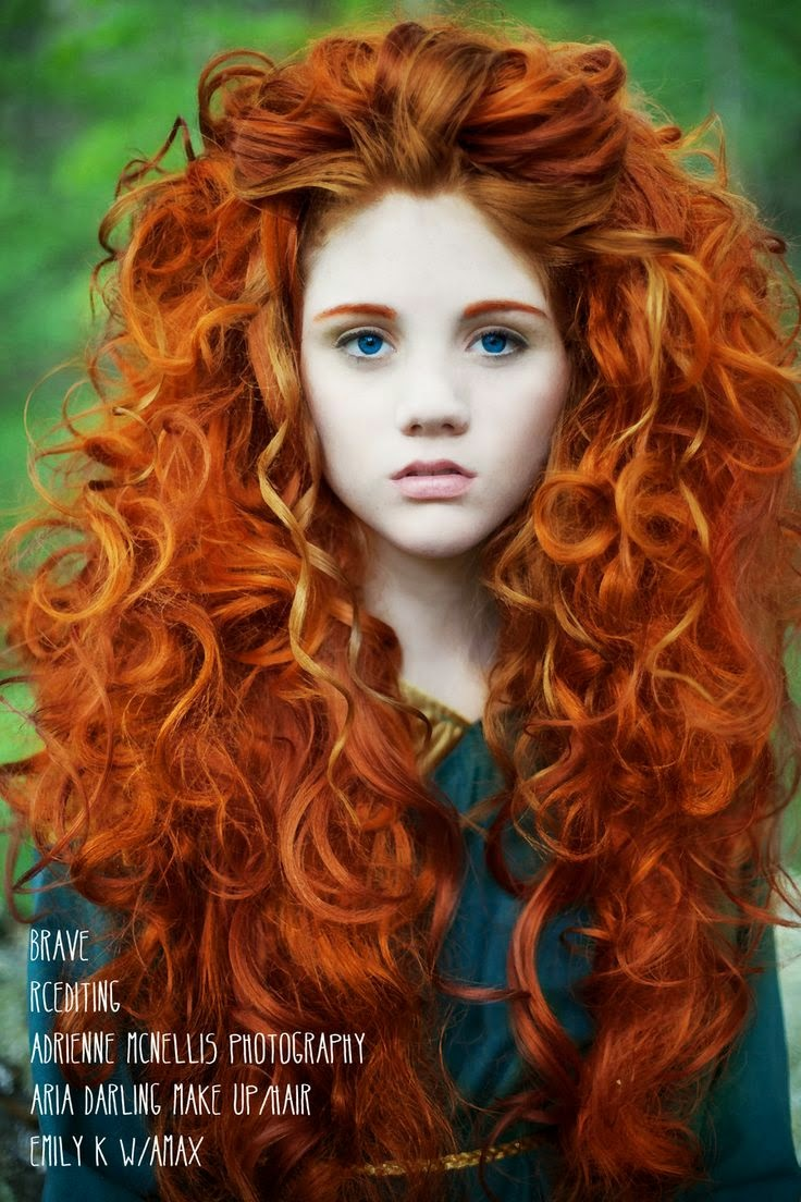 Astounding Red Amp Curly Hairstyles Hairstyles For Women Draintrainus