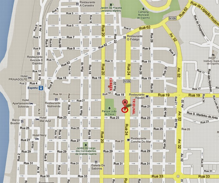 espinho mapa A Mística Azul e Branca: III Encontro Bluegosfera   07/06/2014  espinho mapa