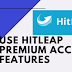 How To Use Hitleap Premium Account Features For Free