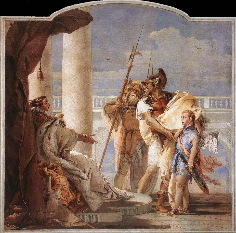 viático de vagamundo aeneas founder of rome