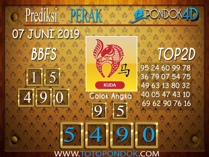 Prediksi Togel PERAK PONDOK4D 07 JUNI 2019