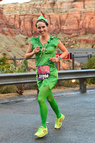 Running through Cars Land - Tinker Bell 10K 2016