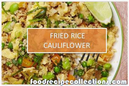 GREAT TASTE OF FRIED RICE CAULIFLOWER