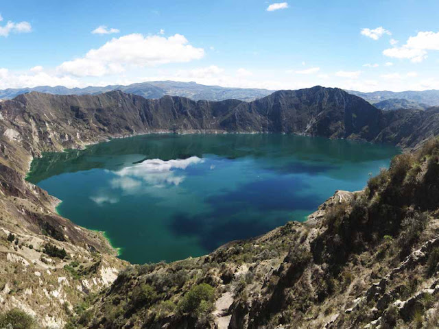 Lago do Vulcão Quilotoa - Equador