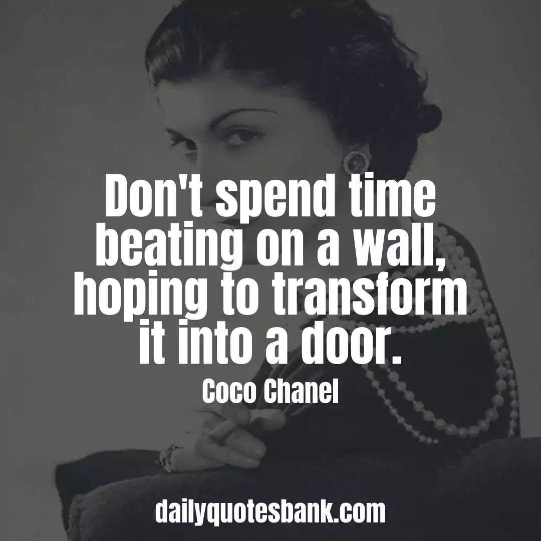 Coco Chanel Quotes About Beauty, Fashion, Women and Love