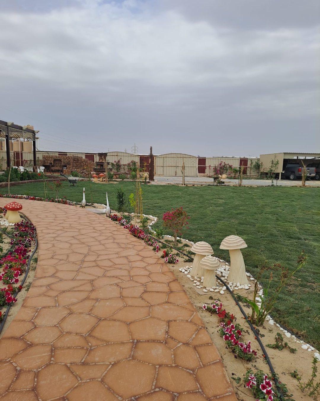 تنسيق حدائق القصيم تركيب عشب صناعي في القصيم