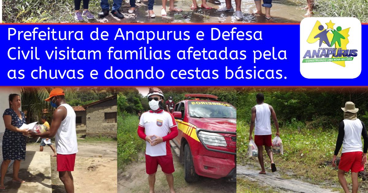 ChapadinhaSite.blogspot.com.br: ANAPURUS   Prefeitura com Apoio da ...