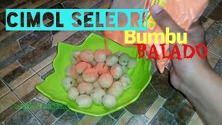Cimol seledri balaado Bandung