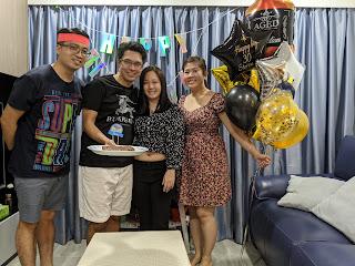 Happy Birthday Group Photo