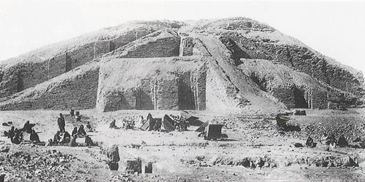 ziggurats at ur