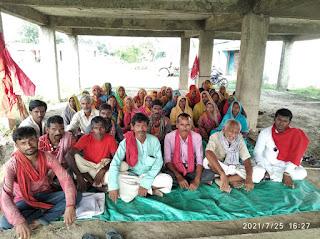 cpi-ml-protest-conitue-in-madhubani
