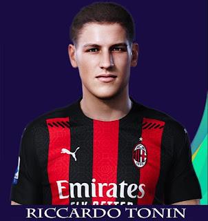 PES 2021 Faces Ricardo Tonin by Rachmad ABs