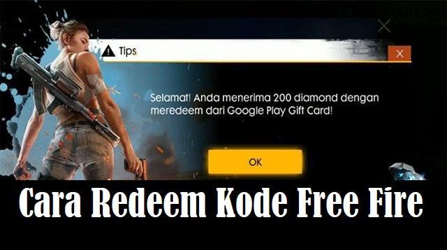 Cara Redeem Kode Free Fire