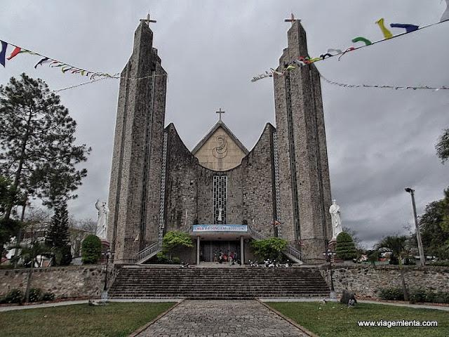 A Phu Cam Catedral, em Hue