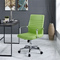 Bright Green Office Chair at OfficeAnything.com