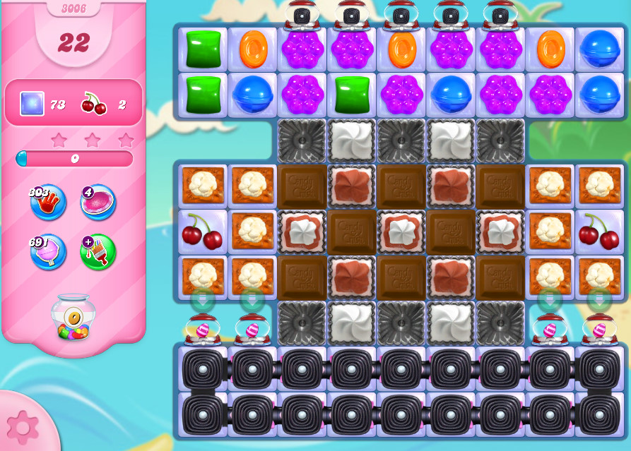 Candy Crush Saga level 3006