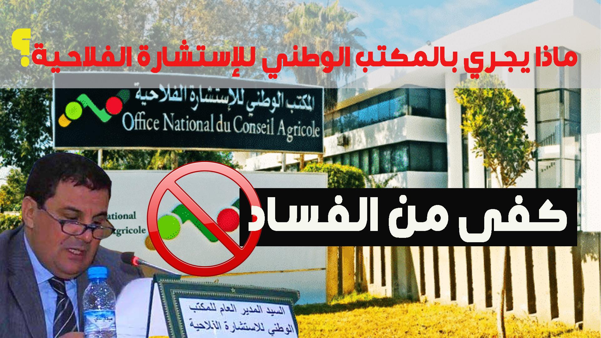 ماذا يجري بالمكتب الوطني للإستسارة الفلاحية؟