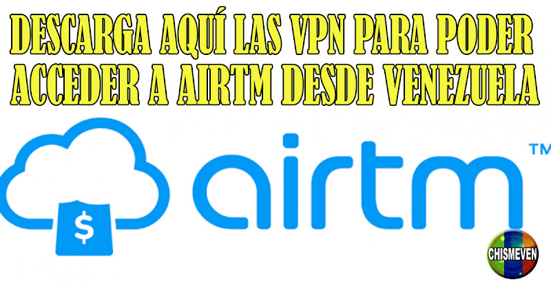 Solo descargando aquí estas APP los venezolanos podremos acceder a AirTM