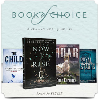 book of choice giveaway June 2017 banner
