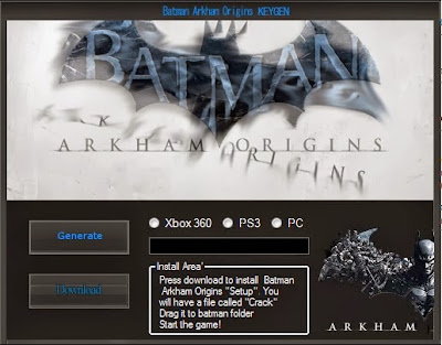 And arkham download key free serial unlock code city batman