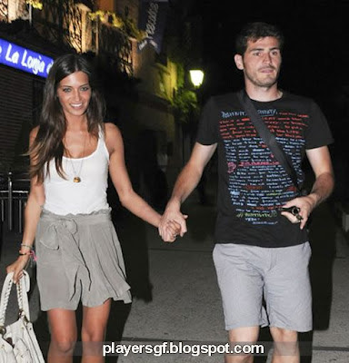 Casillas and his hot girlfriend Sara Carbonero