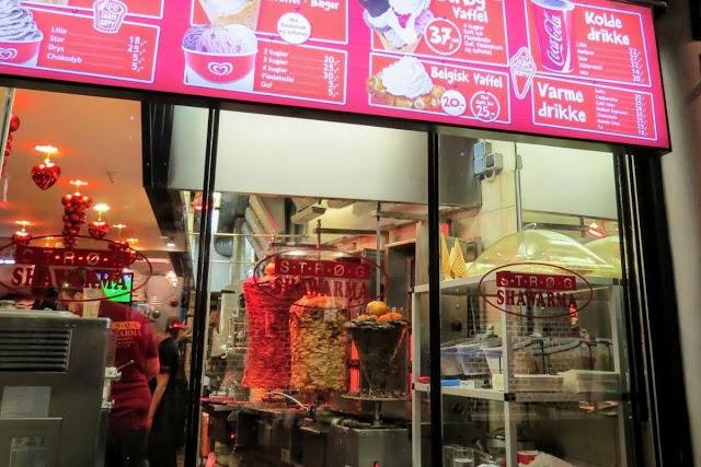 Copenhagen in Winter: Strøg Shawarma