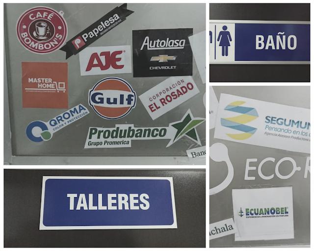 servicio de Plotter de Corte en Guayaquil, Ecuador - Macroprint