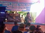 Anggota DPRD Propinsi  Sumut  Muhammad Gandhi Siregar Reses  Di Kecamatan Torgamba Labuhanbatu Selatan