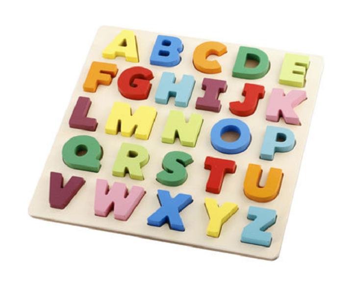 Kmart chunky alphabet puzzle