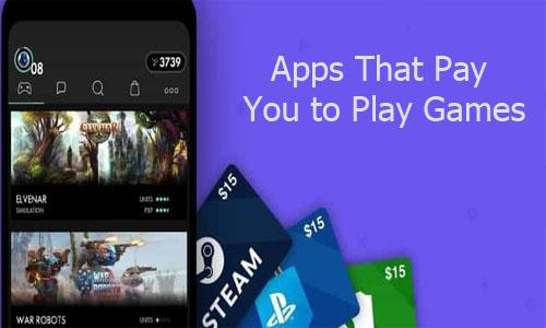 تطبيقات تدفع لك مقابل تشغيل الألعاب