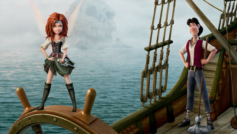 Disney's Pirate Fairy Movie Review, #DisneyFairies