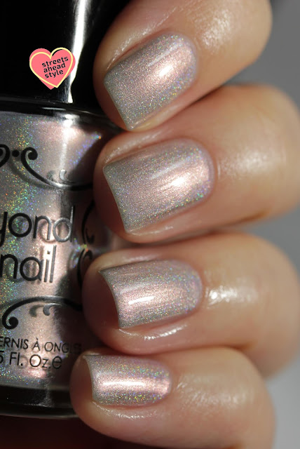 Beyond the Nail Ghost of Christmas Past swatch by Streets Ahead Style