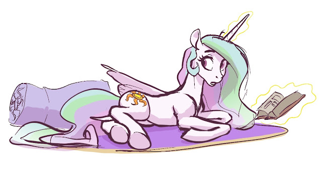 My Little Pony Morning Discussion Header Author Calpain