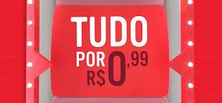Promoção Ifood Tudo Por R$ 0,99.