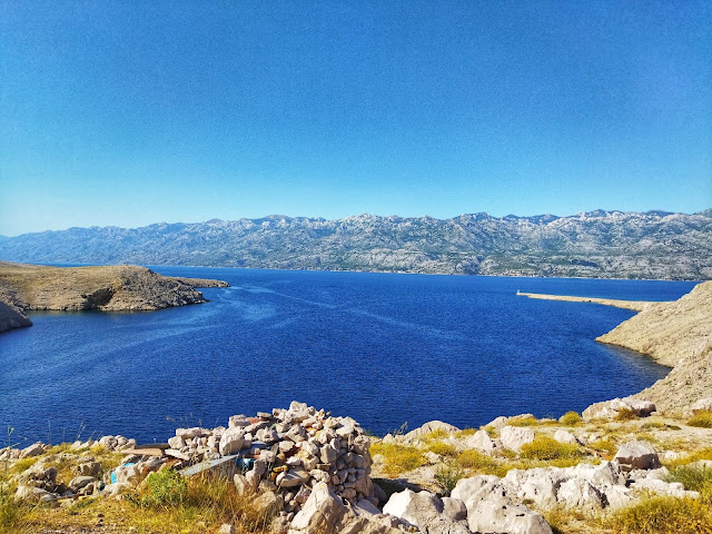 morze Adriatyckie, góry Velebit, Chorwacja