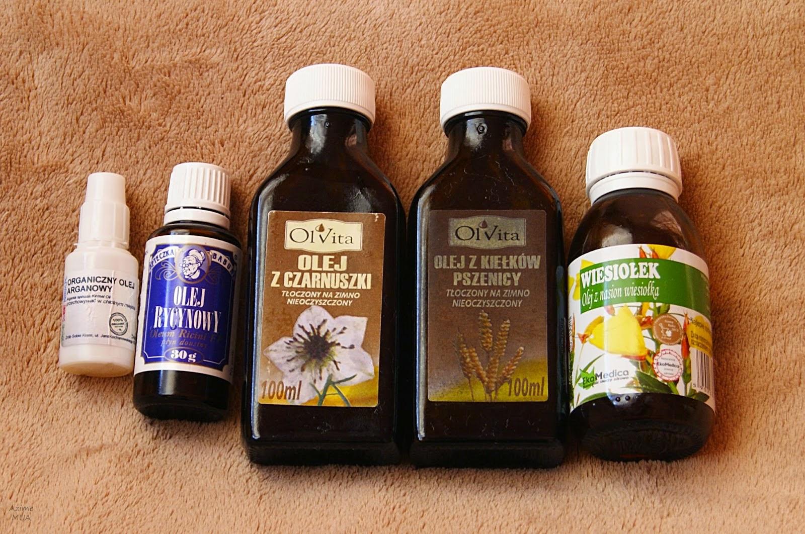 [183.] Największy spis olejów dopasowany do różnych typów cer.