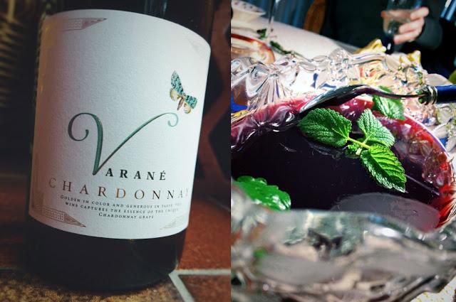 Chardonnay und Götterspeise