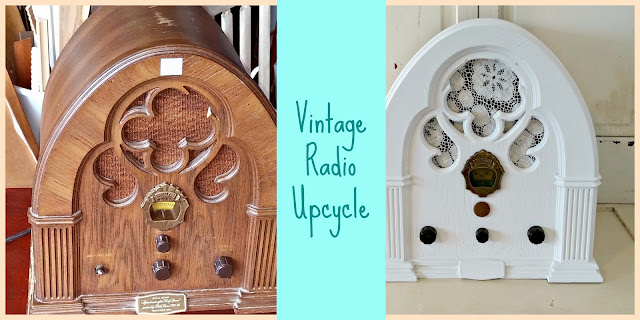 Vintage Radio Nightlight