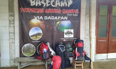 Basecamp Sigandul Via Dadapan