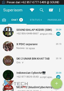 Screenshot Grup WhatsApp