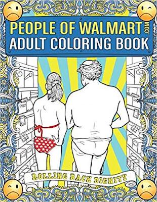 people of walmart coloring book