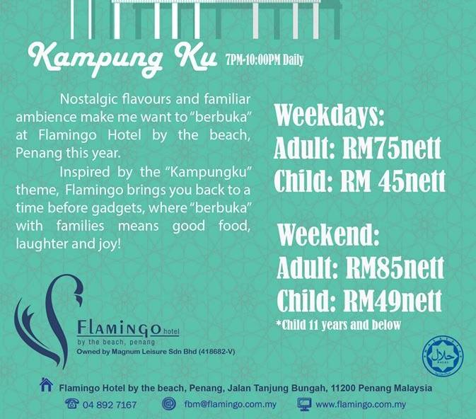 buffet ramadhan flamingo hotel penang