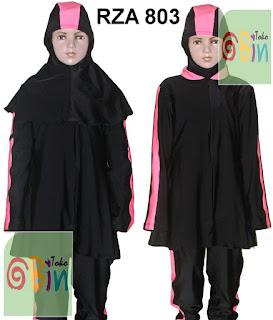 baju renang syari untuk anak RZA 803