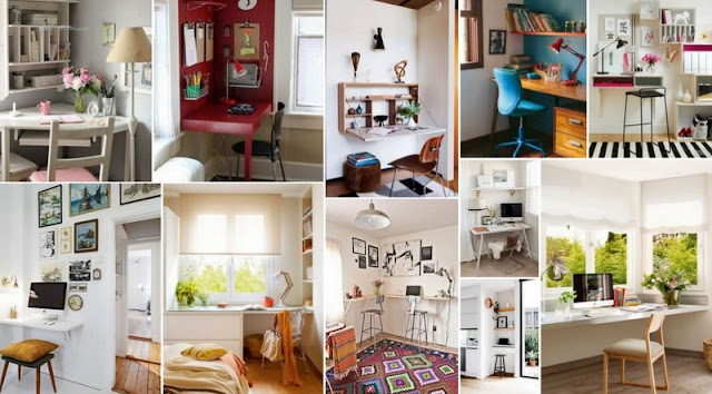 50+ Γραφεία για Μικρούς Χώρους